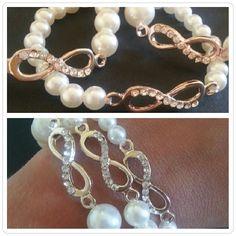 Nuovissimi bracciali infinity♥ #accessori #bracelet #braceletcollection #byme  #buybijoux #bracciali #diy  #fattoamano #followme #glam  #gioielli #handmade #instabuy  #igers #igersitaly #instagrammers #instabeauty #instashopping  #instabijoux #instaphoto #instafashion #instaitalia #like #love  #moda #musthave #nicethings  #outfit #picoftheday Per info e costi mylovelycreation@libero.it