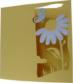 Silhouette Online Store - View Design #46910: daniela angelova flower and butterfly card