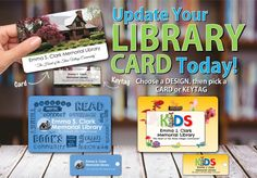 Our new library card