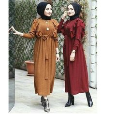 Hijab Fashion Summer, Modest Fashion Hijab, Casual Hijab Outfit, Hijab Chic, Abaya Fashion, Muslim Fashion, Fashion Outfits, Hijab Evening Dress, Hijab Dress Party