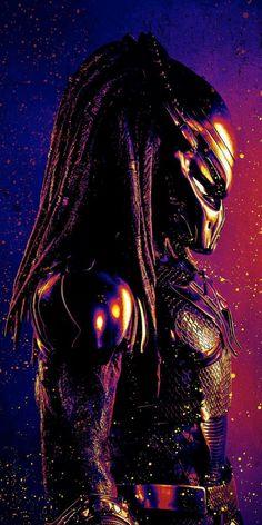 The Predator Phone Wallpaper Les Aliens, Aliens Movie, Predator Movie, Alien Vs Predator, Predator Costume, Disney Pixar, Fantasy, Science Fiction, Alien Concept Art