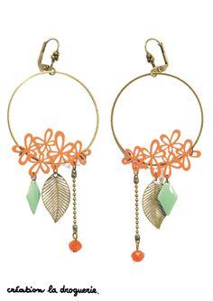 Ces jolies BO donneront du pep's à vos tenues d'été !! #ladroguerie #bijoux #bo