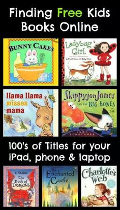 Free kids books online