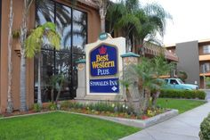 Stovall's Inn is on the corner of Katella and West, next door to a Coco's restaurant. It's only a 10-15 minute walk to the Disneyland Resort, so that is probably your best option, but there is a Anaheim Resort Transit stop right outside the hotel.