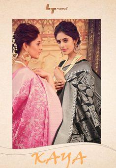Kaya by LT Fabrics Heavy Designer Silk Traditional Sarees Collection at Wholesale Rate Traditional Sarees, Indian Ethnic Wear, Designer Sarees, Saree Collection, Kurtis, Salwar Kameez, Lehenga, Fashion Photography, Fabrics