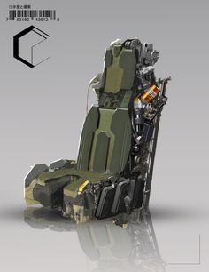 ArtStation - Cockpit Chair, Josh Ellem
