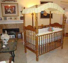 1980s Bassett Canopy Crib I Bought This Crib In A Dark