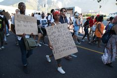 In pictures: CPUT students join protests - The Daily Vox University, How To Get, Pictures, Photos, Paintings, Colleges