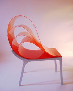 the Flex Chair, also by federico otero.