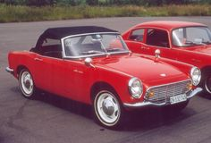 1966 Honda S 600. I had one early 1970. Should have kept it.