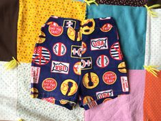 70s Toddlers Shorts 2/3 by lishyloo on Etsy