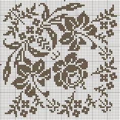 Υπέροχα οβάλ και τετράγωνα σχέδια για σταυροβελονιά   Lovely oval and square cross stitch patterns    Επισκεφτείτε την ετικέτα  Τραπεζομά...