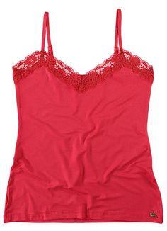 Blusa Renda (Vermelho) Enfim