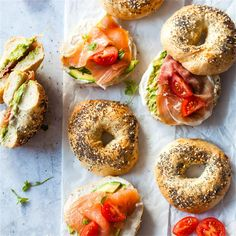 An Easy Homemade Bagels recipe using just a few staple ingredients! The buns are… An Easy Homemade Bagels recipe using just a few staple ingredients! The buns are Vegan, Dairy-Free, and Egg-Free. Thyme Recipes, Dog Recipes, Dairy Free Recipes, Brunch Recipes, Baking Recipes, Vegan Recipes, Vegan Ideas, Sandwich Recipes, Sandwich Buffet