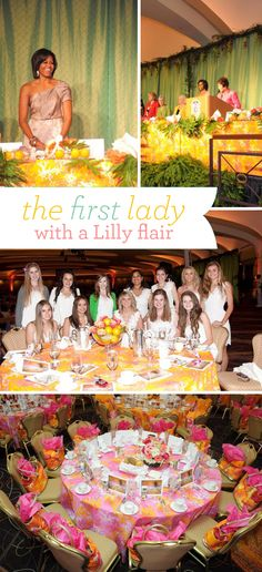 Lilly Pulitzer Transforms the Congressional Luncheon
