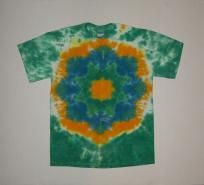 Power Surge - Tie Dyed Mandala T-Shirt - Adult Medium