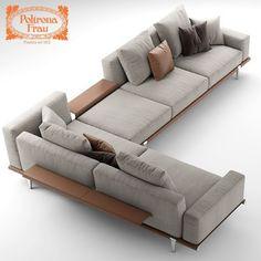 Custom Long L Shaped Wood Sofa Google Search Room Inspirations