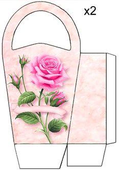 Pink Rose bag JB