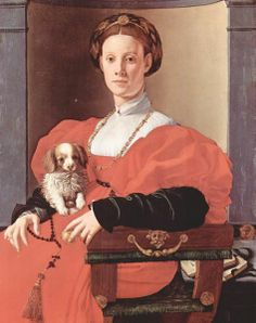 Jacopo Pontormo, Portrait of a Lady in Red, 1532