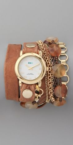 Sedona Stones Wrap Watch from La Mer Collections