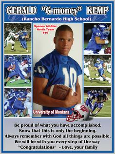 Yearbook pages yearbooks and senior ads on pinterest for High school football program template