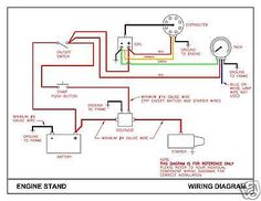 automotive wiring diagram resistor to coil connect to distributor rh pinterest com