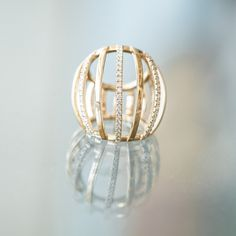 The new ring from Maison Dauphin Le Cap, Mars, Gold Rings, Rose Gold, Journal, Jewels, Stitch, My Love, Fashion Trends