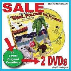 How-To-Make-Cruise-Ship-Towel-Folding-Animals-Towel-Origami-2-DVD-Set   http://www.ebay.com/itm/-/171956588753?