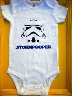 Roupinha de bebê para pais fãs de Star Wars - Minhas Dicas
