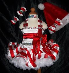 pageant candy wear ooc   Details about NATIONAL PAGEANT CHRISTMAS WEAR ~GLITZ CANDY CANE STRIPE ...