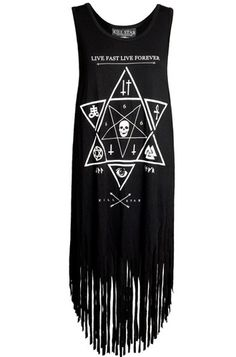 Kill Star Witchcraft Fringe Women's Tank - Kill Star