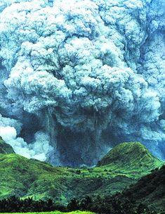 Mount Pinatubo June 15, 1991