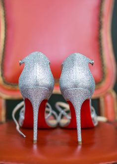 Featured Photographer: Samuel Lippke; wedding shoes idea