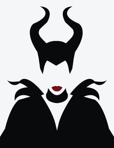 Maleficent. #illustration #vector                                                                                                                                                                                 Más