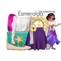 Esmeralda by leslieakay on Polyvore featuring Charlotte Russe, Rebecca Minkoff, Ben-Amun, Phoebe Coleman, ABS by Allen Schwartz and L. Erickson