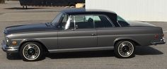 1970 Mercedes-Benz 280SE 3.5 anthracite metallic with black roof