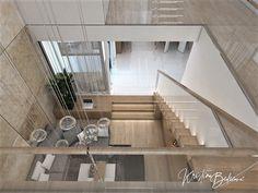 Návrh rodinného domu Rodinný dom s wellness, pohľad z galérie smerom od knižnice Stairs, Home Decor, Ladders, Homemade Home Decor, Stairway, Staircases, Decoration Home, Stairways, Interior Decorating
