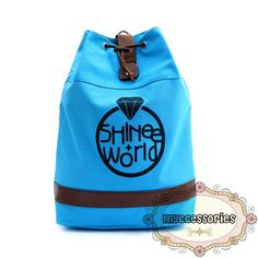 SHINee Canvas Backpack (JNS0004) Material : Canvas Height : ~45 cm Thickness :~14 cm Bottom :~30 cm