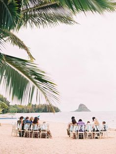 Kualoa Ranch Moli'i Pavilion and Gardens Secret Island Oahu Hawaii Wedding Photo | Ashley Goodwin Blog