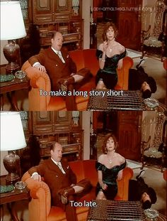 Clue - Movie quote I use the most that people never get
