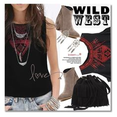 """""""Wild West Style"""" by svijetlana ❤ liked on Polyvore featuring sammydress, polyvoreeditorial and wildwest"""