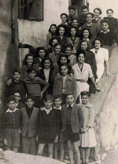 belgodere- photo de classe 1950 (élèves d'occhiatana:LS,CM,VM..)