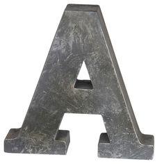 You'll love the A-Design Metal Letter Block at Wayfair - Great Deals on all Décor  products with Free Shipping on most stuff, even the big stuff.