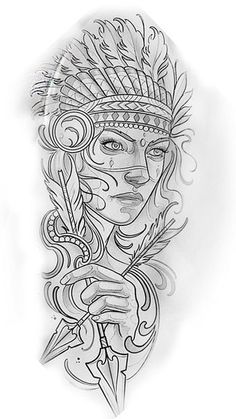 badass tattoo ideas that you really want to try tattoo sketches, tattoo drawings Kunst Tattoos, Chicano Tattoos, Neue Tattoos, Body Art Tattoos, Girl Tattoos, Tattoo Sketches, Tattoo Drawings, Art Sketches, Tattoo Indien