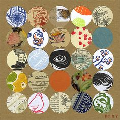 Collage a Day - No. 2 by Magic Jelly, via Flickr