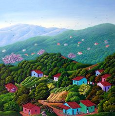 Returning Home by Alonso Flores of El Salvador