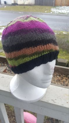 Check out this item in my Etsy shop https://www.etsy.com/listing/497643284/knit-womans-beanie-knit-with-100-wool