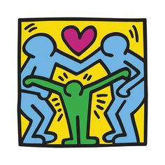Giclee Print: Pop Shop by Keith Haring : Keith Haring Prints, Keith Haring Poster, Keith Haring Art, Halloween Art Projects, Pop Art Artists, Poster Prints, Art Prints, Poster Wall, Art Posters