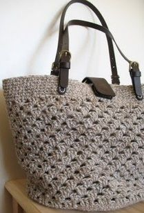 Granny stitch bag. No instructions, just pic but looks very nice and simple.