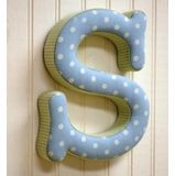 fabric wall letters